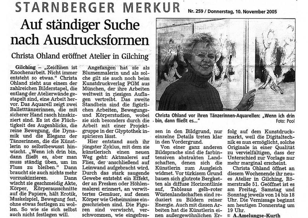 Starnberger Merkur 10. November 2005