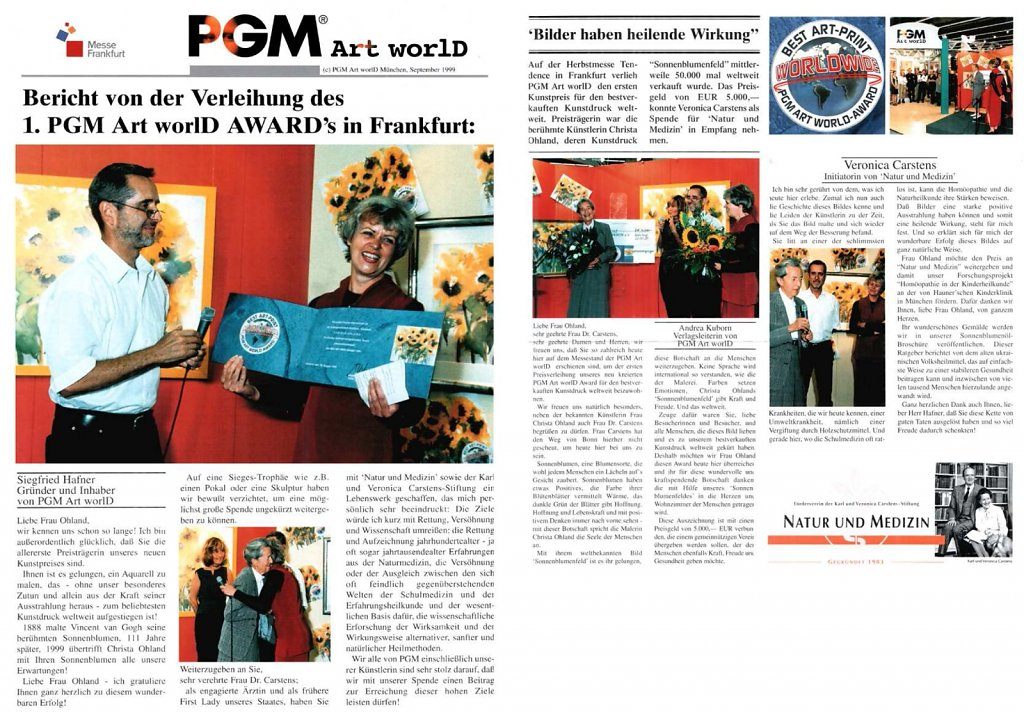 PGM Art worlD September 1999