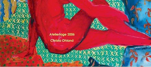 Einladungskarte Werkschau 2006