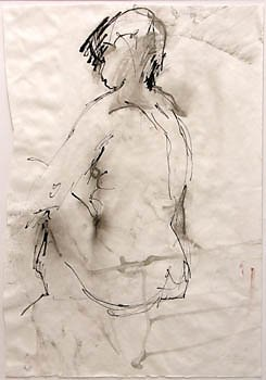 Vlies – Lavage – Zeichnung